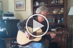 Thomas Rein Guitar R-45 Gary Hunt performing Mr Sandman